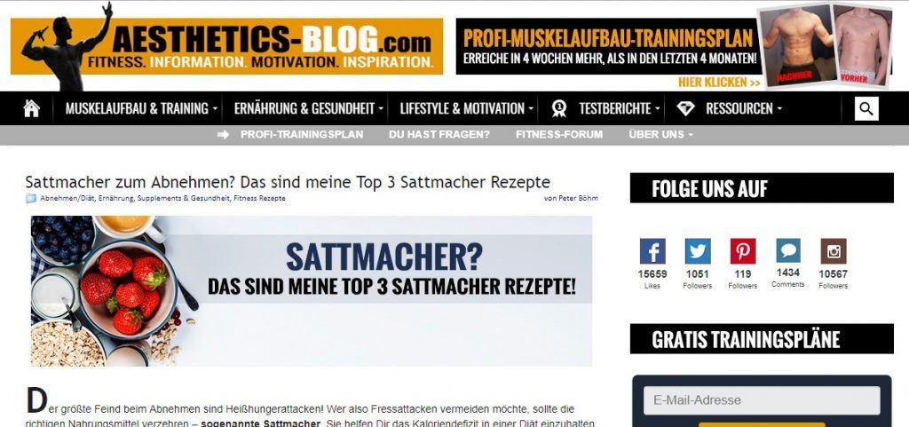 aesthetics-blog.com Blogger Bestenliste