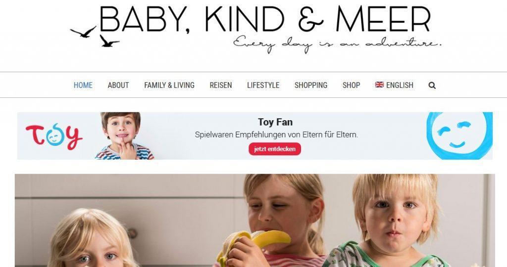 babykindundmeer.de Blogger Bestenliste