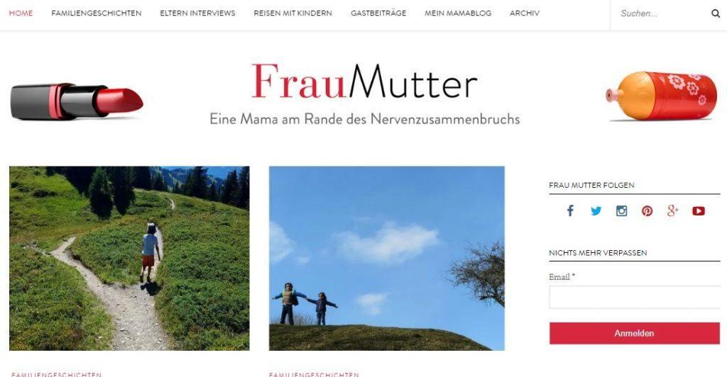 Frau-Mutter.com Blogger Bestenliste