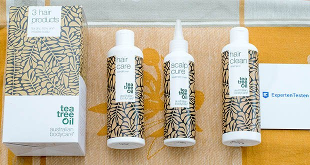 Australian Bodycare Kopfhautpflege Set im Test - Scalp Cure, Hair Clean & Hair Care