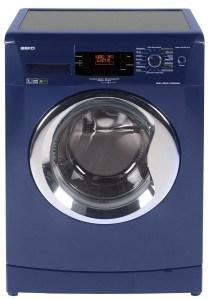 Waschmaschinen müssen nicht langweilig weiß sein: das beweist die getestete blaue Waschmaschine aus dem Hause Beko!