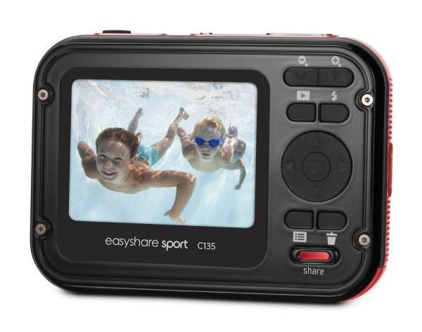 Das Display der Kodak Digitalkamera