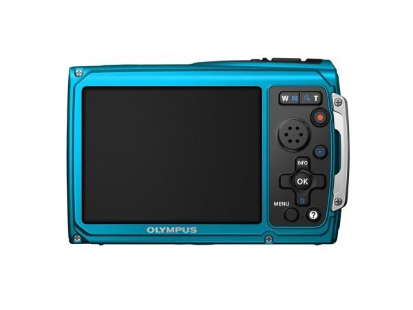 Die Kamera hat ein großes Display