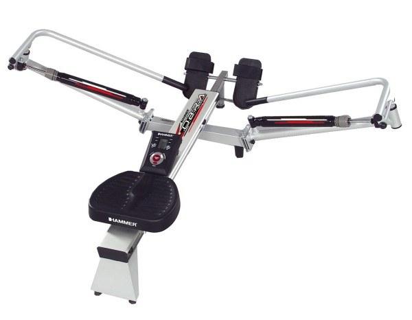 Das Rudergerät Rower Cobra von Hammer ist unser Vergleichs-Testsieger