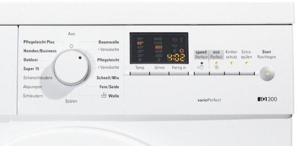 Die Waschmaschine von Siemens hat viele Funktionen