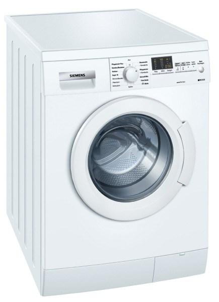 Auf den ersten eindruck macht die waschmaschine von siemens einen sehr