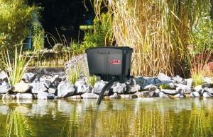 Teichfilteranlagen arbeiten nach unterschiedlichen Prinzipien.