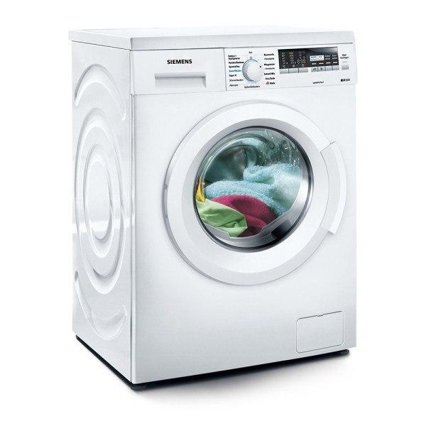 Die Waschmaschine von Siemens beim spülen