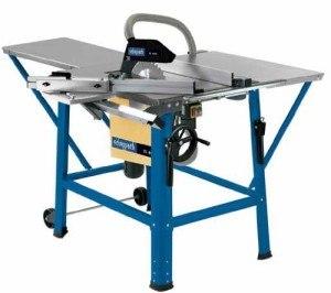 Wir haben die Scheppach ts eco 230 Tischkreissäge für Sie getestet.