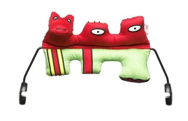 Das super weiche Spielzeug für die Babywippe!