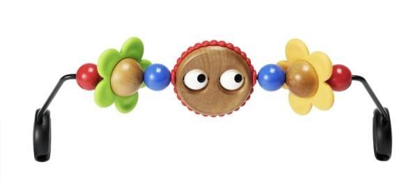 Der Spielbogen Fröhliche Augen aus unserem Babywippen Test