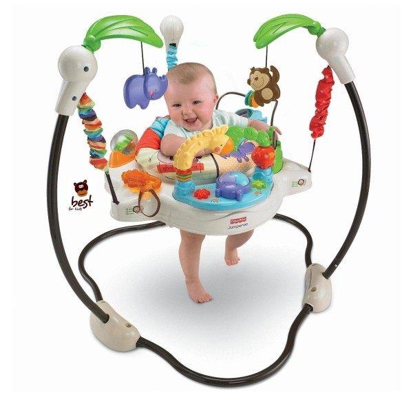 Der Babyhopser mit allen erdenklichen Spielutensilien