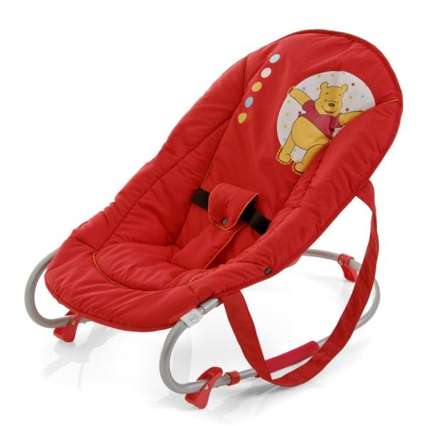 Die Babywippe mit Winnie Pooh Motiv