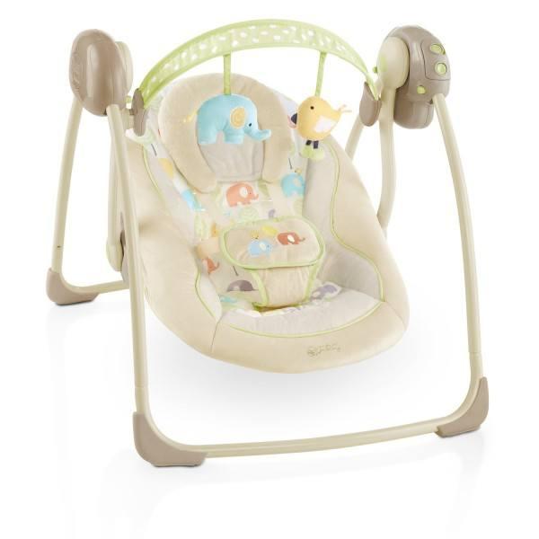 Eine tolle Babyschaukel mit vielen Funktionen
