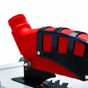 Der Griff der Einhell RT-TS 1221 Tischkreissäge ist stabil und gut geformt.