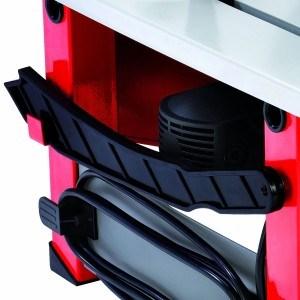 Bei der Einhell RT-TS 1221 Tischkreissäge ist für die notwendige Sicherheit gesorgt.