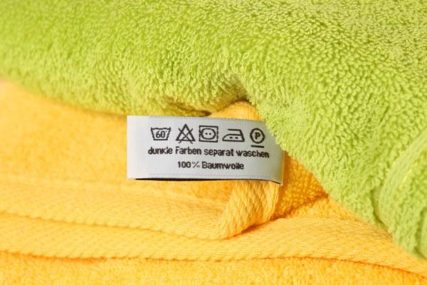 Die Textilpflegesymbole helfen beim waschen