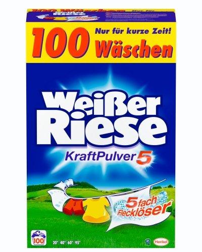 Vollwaschmittel für weiße Wäsche