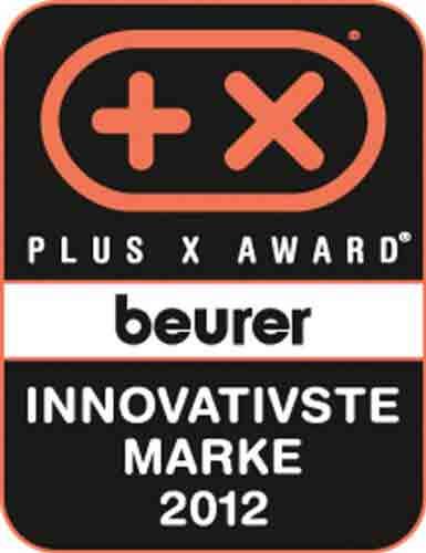2012 wurde beurer mit dem Plus X Award ausgezeichnet
