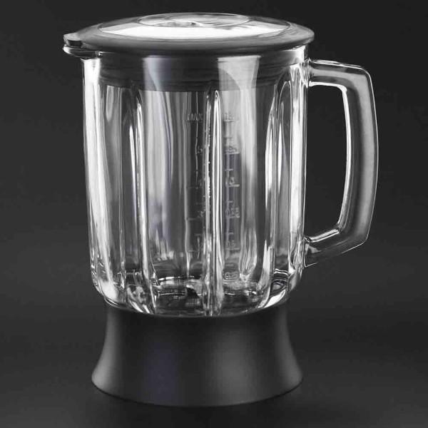 Der Glasbehälter ist sehr robust und benutzerfreundlich