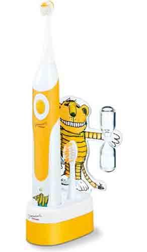 Elektrische Zahnbürste für Kinder mit Janosch