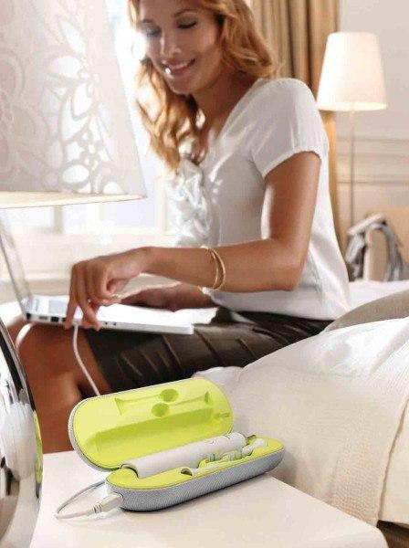 Die Diamond Clean von Philips ist der optimale Reisebegleiter