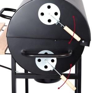 Ultranatura Smoker Alamo Grillwagen