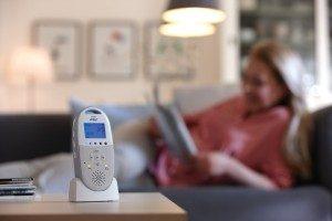 Babyphone Avent SDC580/00 von Philips mit Stationseinheit