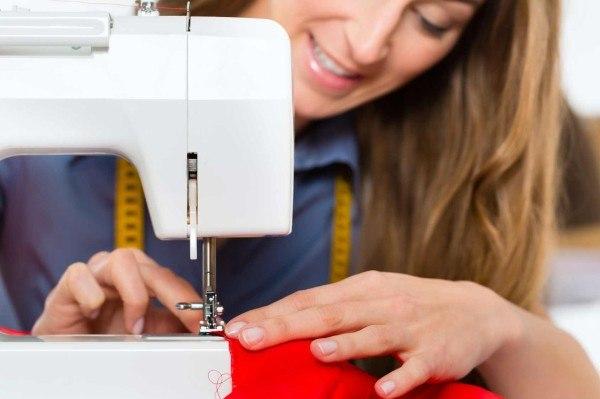 Mit der Nähmaschine lassen sich verschiedenste Dinge herstellen