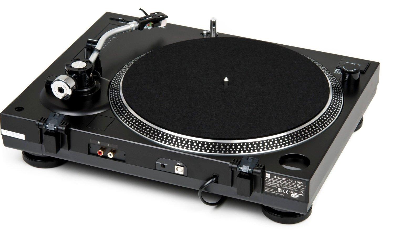Dual USB DJ Plattenspieler Anschlüsse