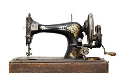 Die Nähmaschine von damals