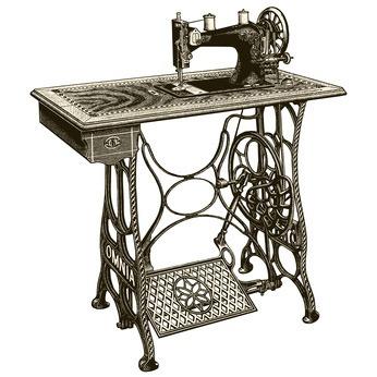 So haben die Nähmaschinen früher ausgesehen