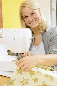Moderne Nähmaschinen sind mit vielfältigen Funktionen ausgestattet.