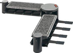 Die Grillflächen des AEG RG 5563 Raclette Grill sind frei anzuordnen