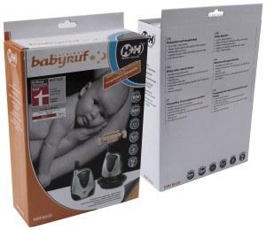Die Verpackung des Babyphone Hartig + Helling 97864 MBF 8020