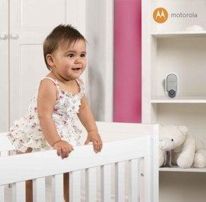 Die Babyeinheit des Babyphone Motorola 188602 MBP11