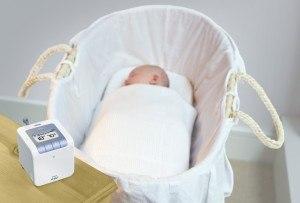 Das Babyphone Philips SCD 535/00 lässt Eltern und Babies ruhiger schlafen.