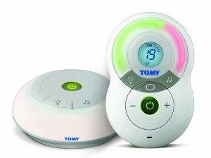 Die Eltern- und Babyeinheit des Babyphone Tomy Y7574EU Babyphone Digital TF525