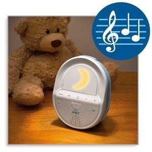 Dies ist die Babyeineit des Philips Babyphone SCD 505/00 Avent ECO DECT.