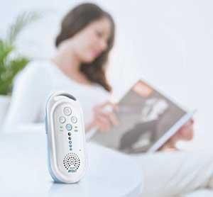 Das Philips Babyphone SCD 505/00 Avent ECO DECT ist immer dort wo sie es brauchen.