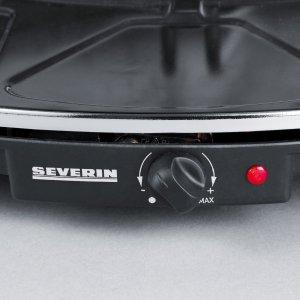Der Temperaturregler des Severin RG 2681 Raclette-Partygrill