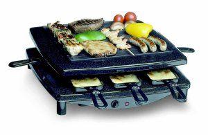 Mit dem Steba RC 3 plus Gourmet-Raclette kann man leckere Speisen zubereiten