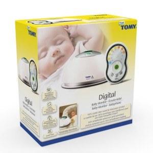 Die Verpackung des Tomy Trust Babyphone Digital TD300