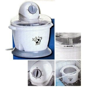 Details der Eismaschine Multistore 1.6 l