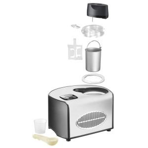 Einzelteile der Eismaschine Unold 48816 de Luxe