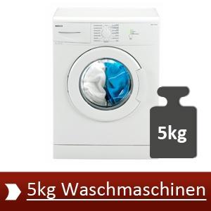 Die besten 5 5kg Waschmaschinen aus unserem Test