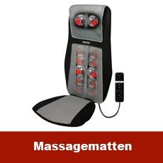 Massagematten dürfen nicht mit einem Herzschrittmacher verwendet werden.