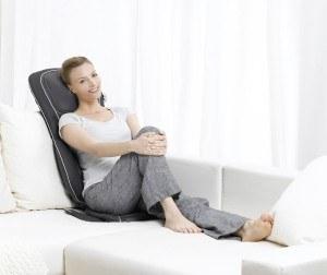 Die komfortable Beurer MG 290 Shiatsu-Sitzauflage bietet verschiedene Massagen.