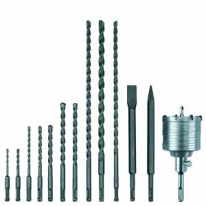 Der Lieferumfang des Bohrhammer Einhell RT-RH 32 Kit