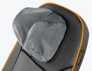 Die Kopfstütze der Medisana MCN Massagematte ist ergonomisch geformt.